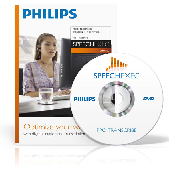 Philips SpeechExec Pro Transcribe software