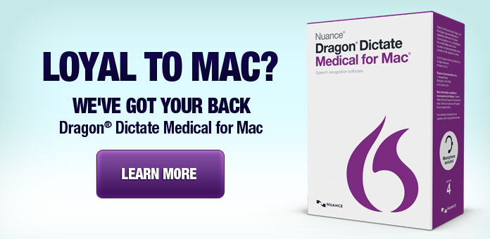 Dragon Dictate Medical for Mac Support