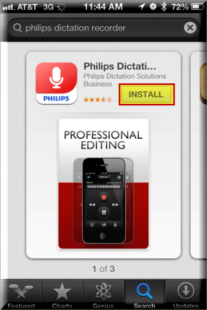 How to Configure the Philips Voice Recorder App on an iPhone