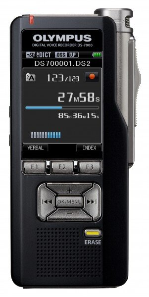 how to reset an olympus ds 7000 digital voice recorder rh certifiedesupport com Olympus Digital Dictaphone