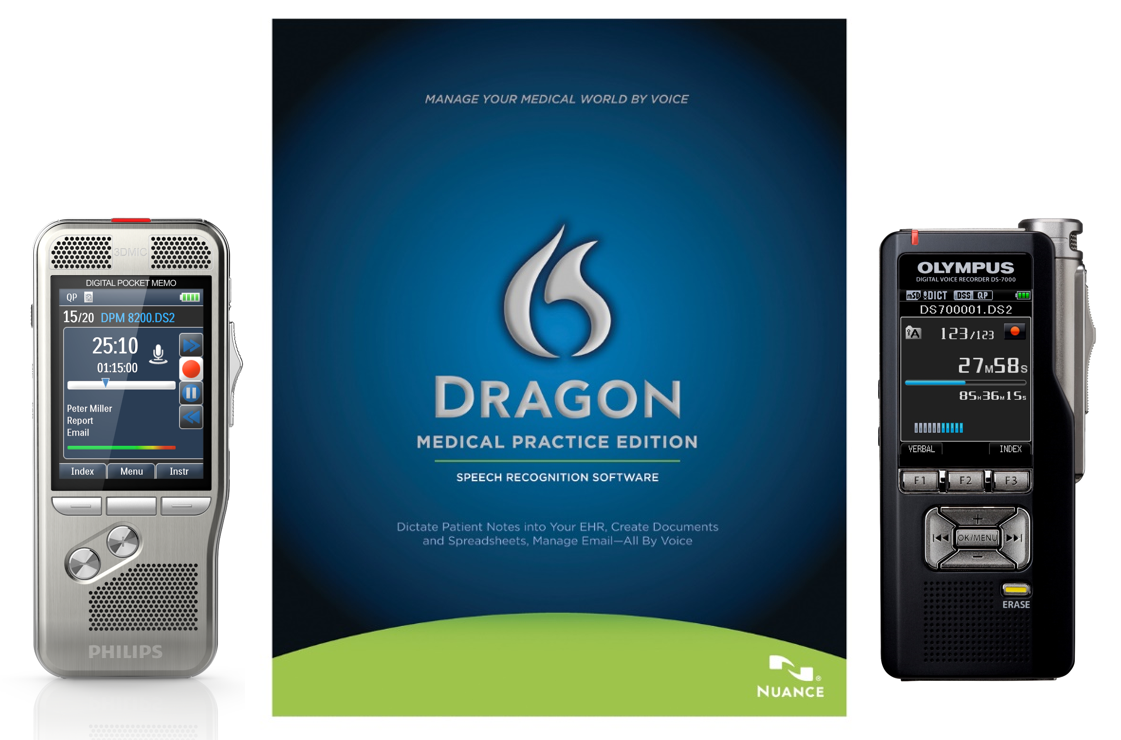 Using Digital Voice Recorders With Dragon Medical Practice Edition 2