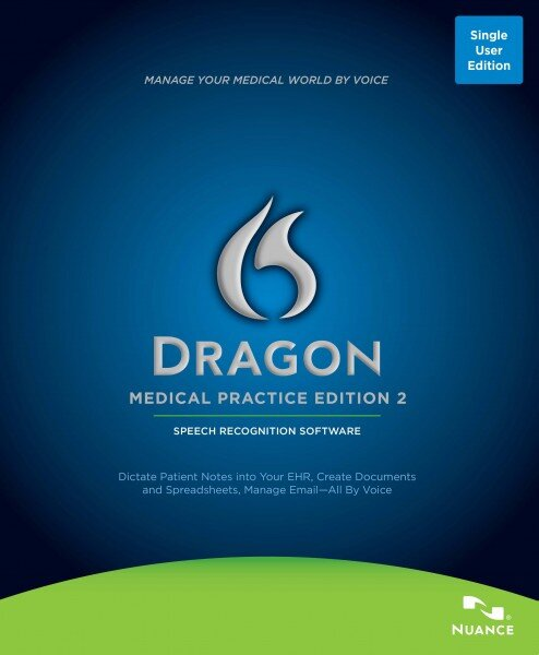Dragon Medical Practice Edition 2 box