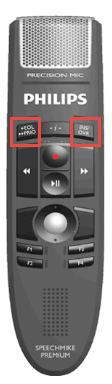 Philips SpeechMike Premium - engaging Keyboard Mode