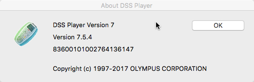 DSS Player for Mac 7.5.4 update confirmation