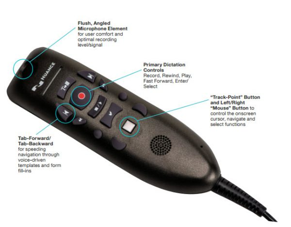 Nuance PowerMic III microphone