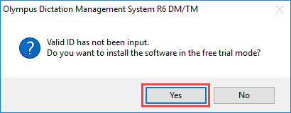 ODMS R6 Installation in trial mode