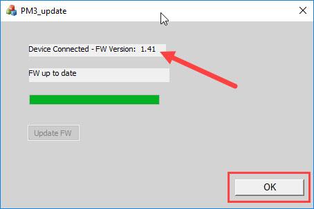 Nuance PowerMic III firmware v1.41 update complete