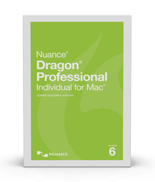 Dragon Professional Individual for Mac v6 box