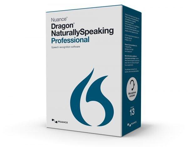 Dragon Naturally Speaking Professional v13 box