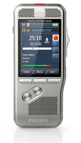 Philips DPM8000 digital voice recorder