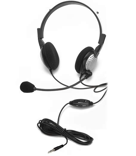 Andrea Communications NC-181 VM On-Ear Monaural Headset