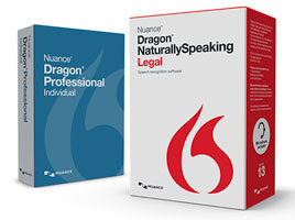 Dragon Professional Individual v14 and Dragon Naturally Speaking Legal v13