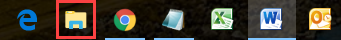 Windows 10 task bar