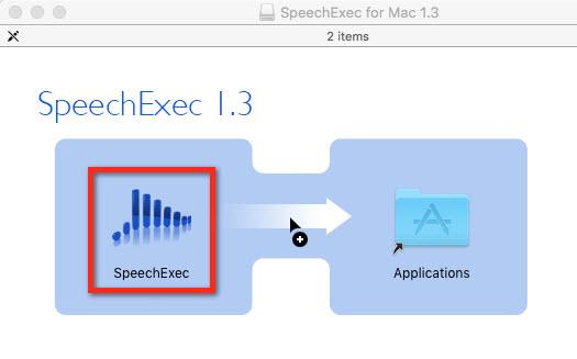Philips SpeechExec for Mac v1.3.07 installation screen